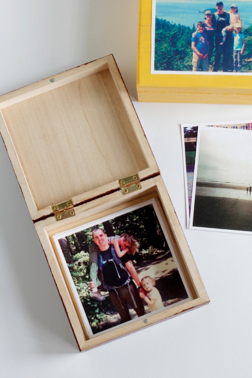 Create a DIY Photo Box for Mother's Day