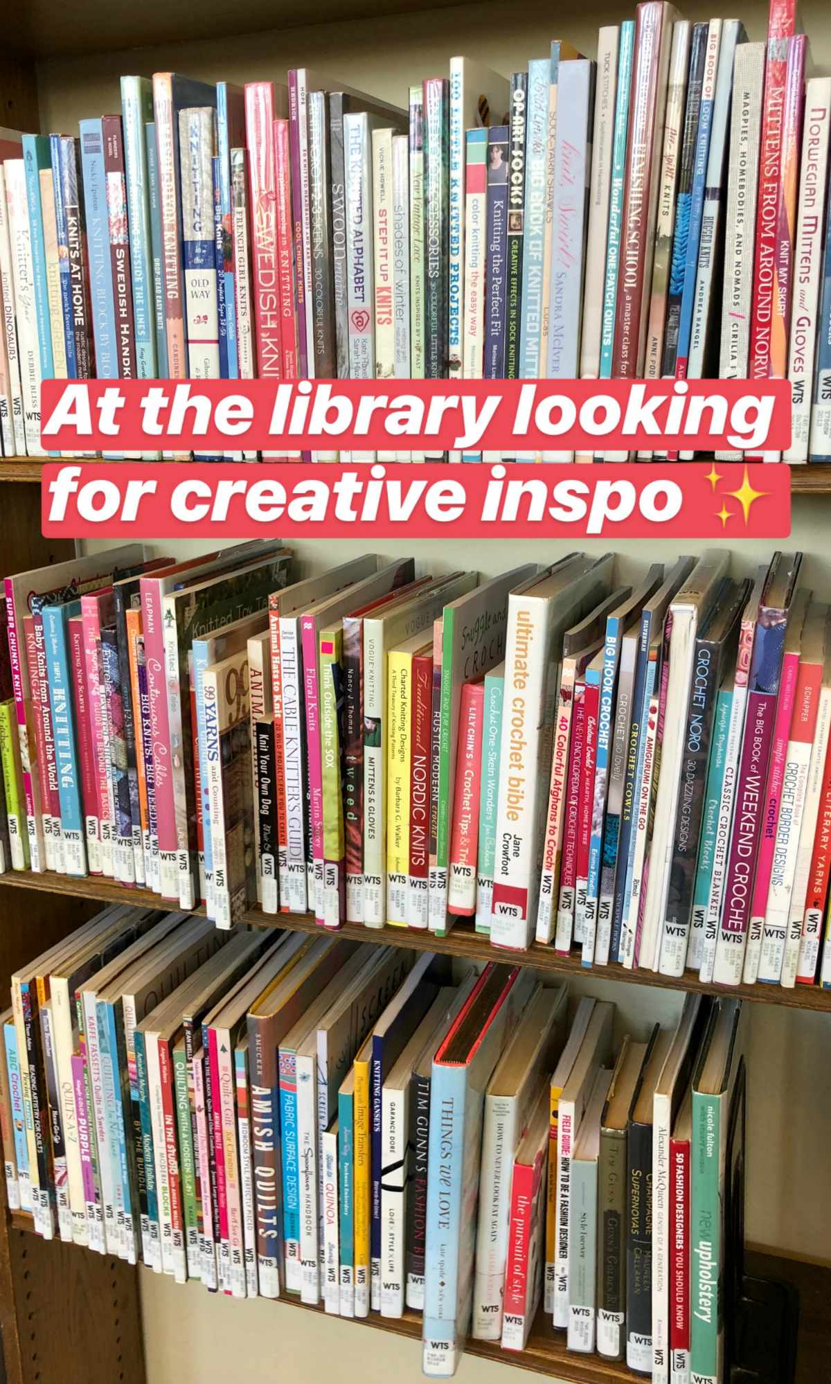 Creative Inspiration at the Library