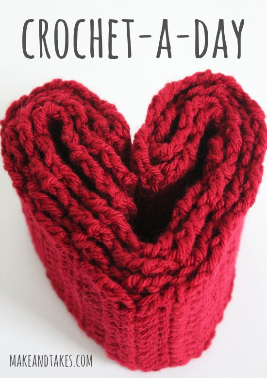 Crochet-A-Day Crochet Series @makeandtakes.com #crochetaday