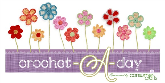 Crochet-A-Day series with Consumercrafts.com