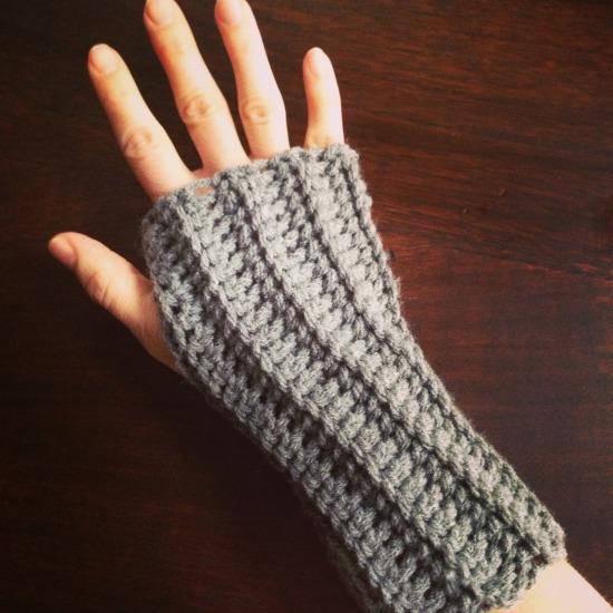Crochet Arm Wrap