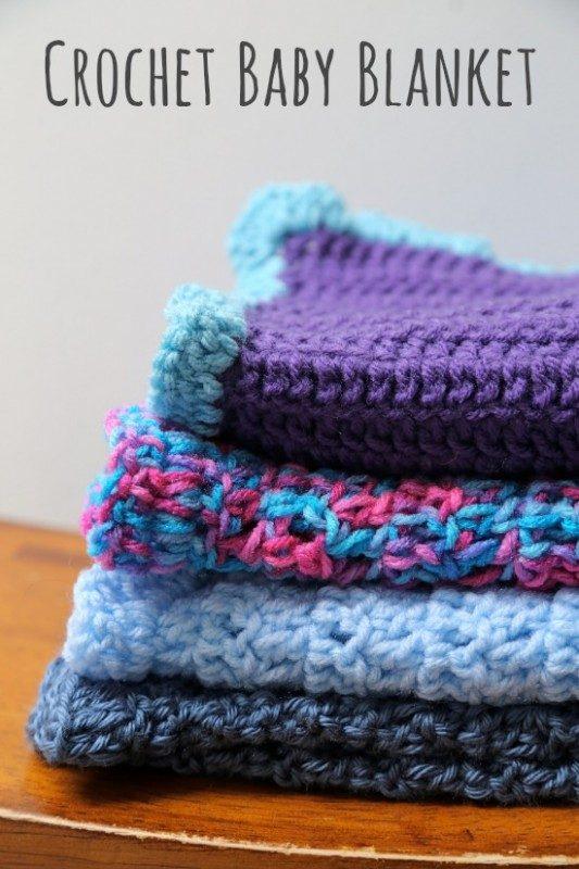 Double Crochet Baby Blanket