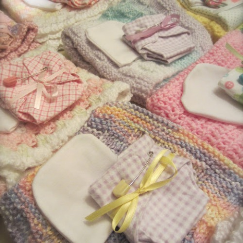 Crochet Blankets for Teeny Tears