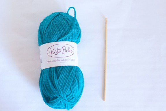 Crochet Boot Cuffs Tutorial supplies