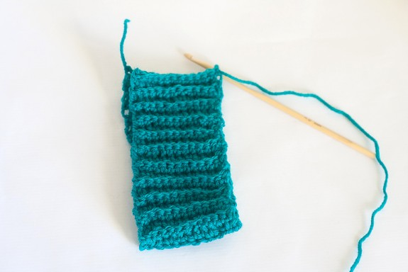 Crochet Boot Cuffs Tutorial by Francine Clouden at Make & Takes-10
