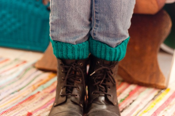 Crochet Boot Cuffs Tutorial by Francine Clouden at Make & Takes-19