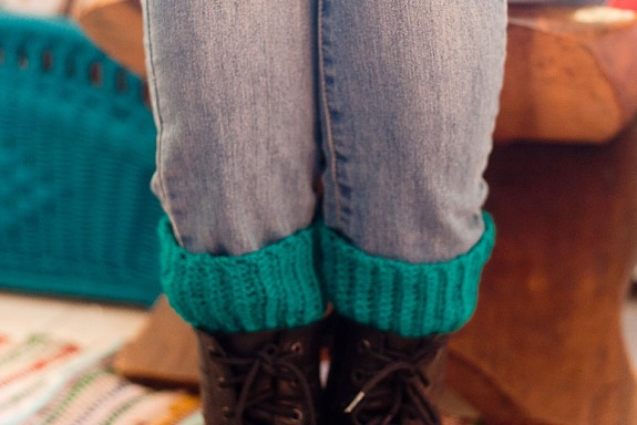 Crochet Boot Cuffs Tutorial by Francine Clouden at Make & Takes-20