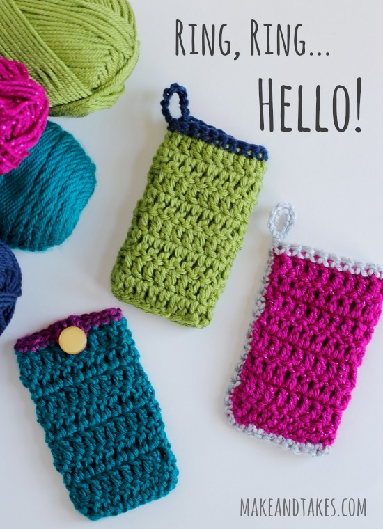 Crochet Cell Phone Cozy