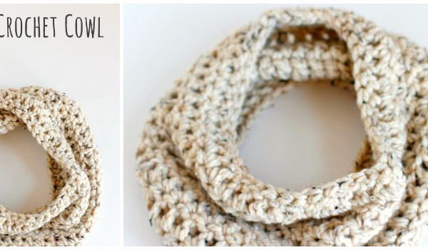 Crochet Cowl Tutorial