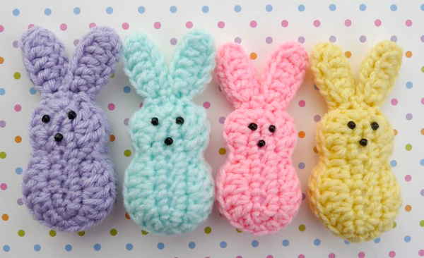 Crochet Easter Peeps Pattern