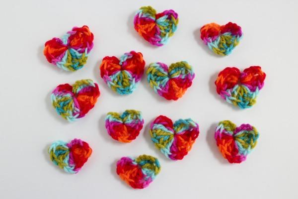 Crochet Heart Gift