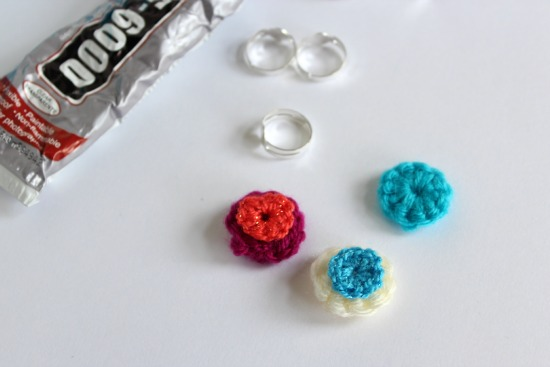 Crochet Mini Circle Rings 1