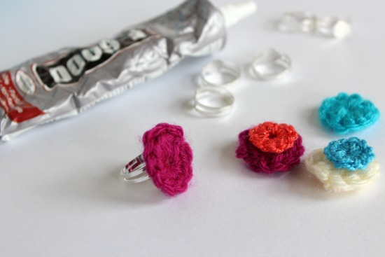 Crochet Mini Circle Rings 2