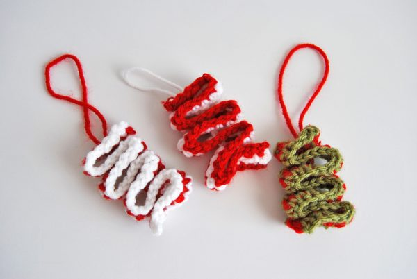 Crochet Ribbon Candy Pattern
