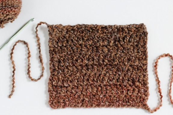 Crochet Square for Hand Warmers