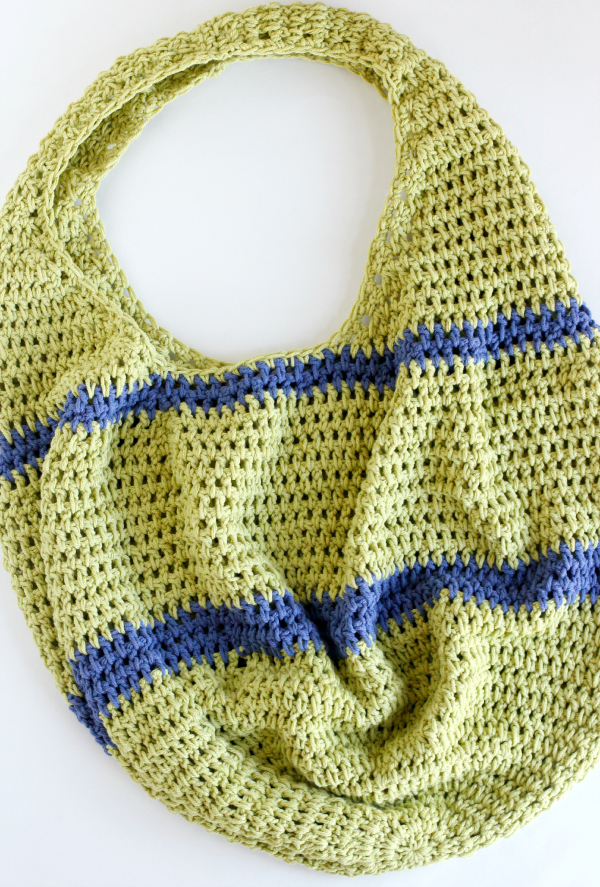Crochet a Farmer's Market Tote Tutorial
