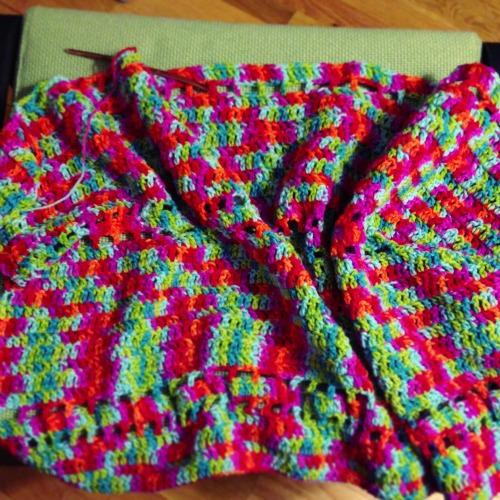 Crochet a Rainbow Afghan