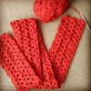 Crochet an Orange Scarf