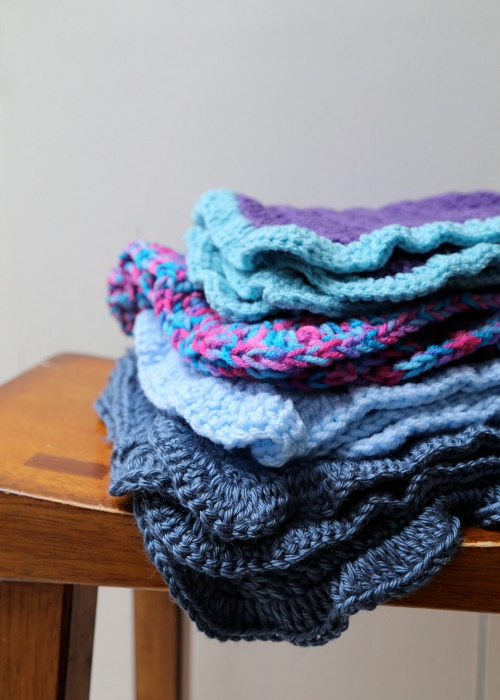 Crocheting Baby Blankets by lisettewoltermckinley.com for @makeandtakes.com