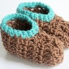 Crocheting Baby Booties