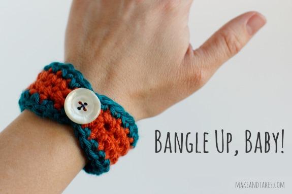 Crocheting a Bracelet Bangle
