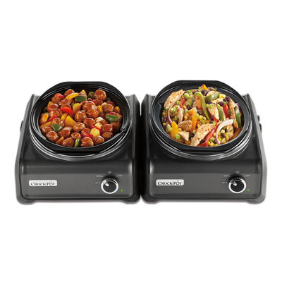 Crock-Pot® Hook Up® Connectable Entertaining System 2-Piece Set