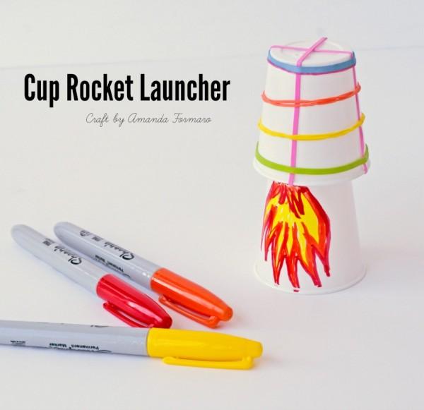 Cup Rocket Launcher by Amanda Formaro