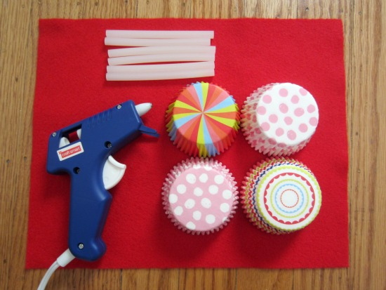 Cupcake Liner Flower supplies