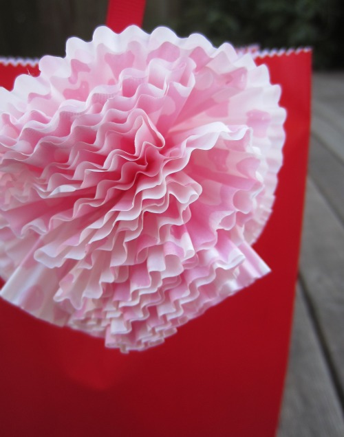 Cupcake Liner Pattern for Flowers