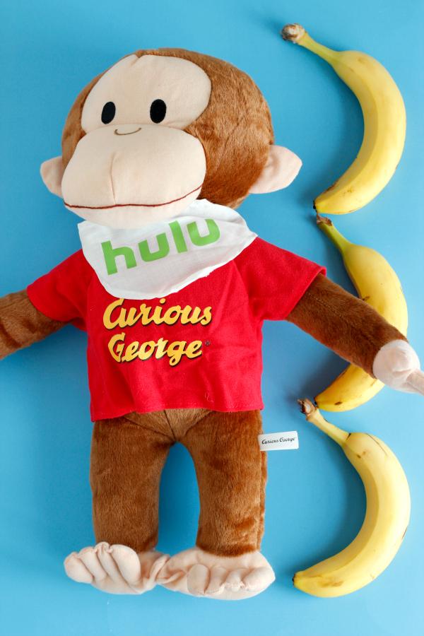 Curious George Banana Measuring Math Activity
