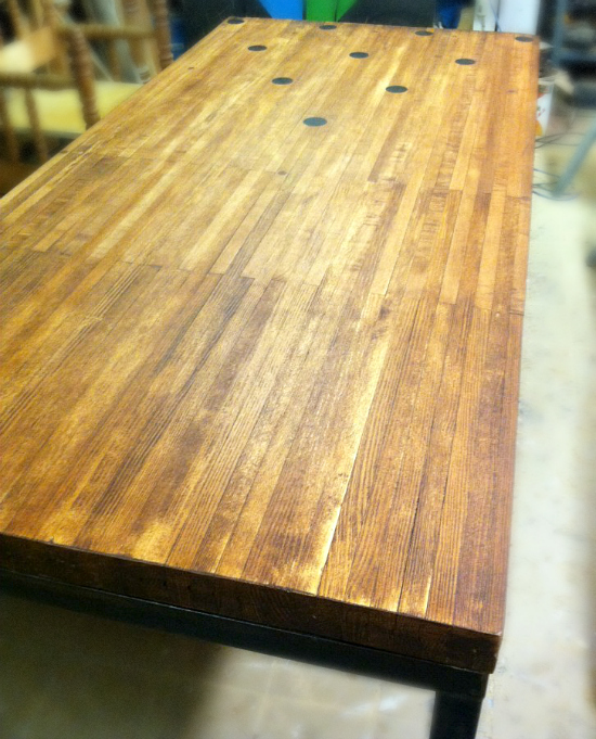 Custom Bowling Alley Table Fantastic Mr Finds