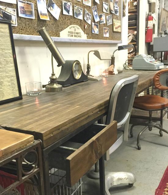Custom Made Bowling Alley Desk Fantastic Mr Finds