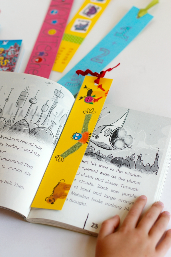 DIY Bookmarks for a Teacher Gift