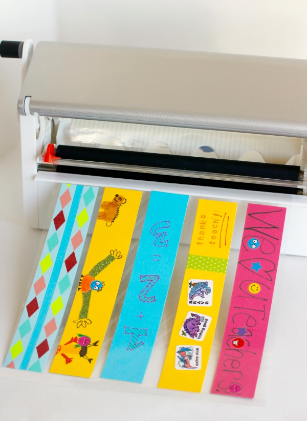 DIY Bookmarks with a Xyron Creative Station