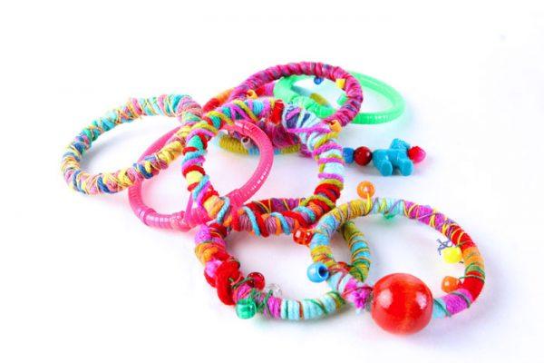 Upcycled Glow Stick Bracelets