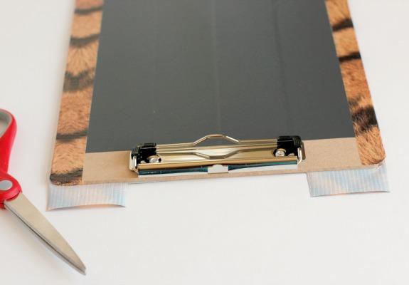 DIY Chalkboard Clipboards to Make