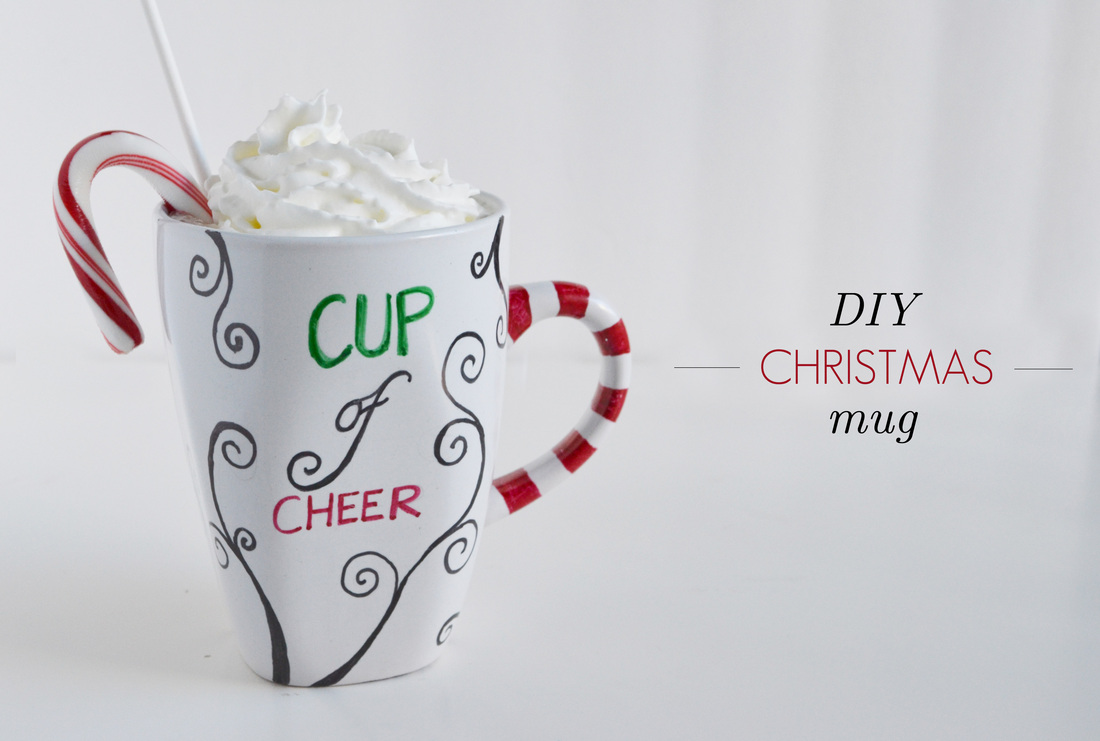 DIY Personalized Christmas Mug | Make and Takes