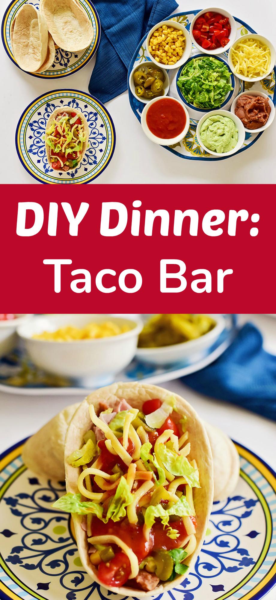 DIY Dinner Taco Bar
