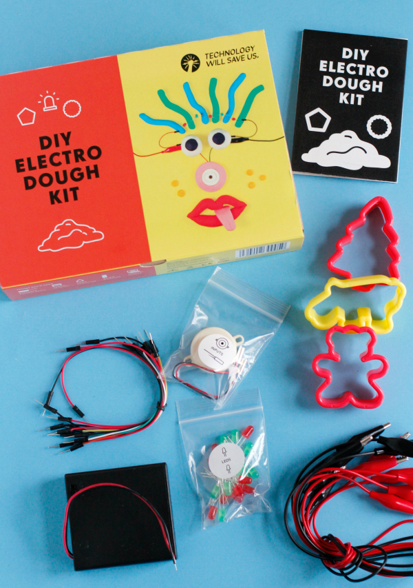 DIY Electro Dough Kit Supplies