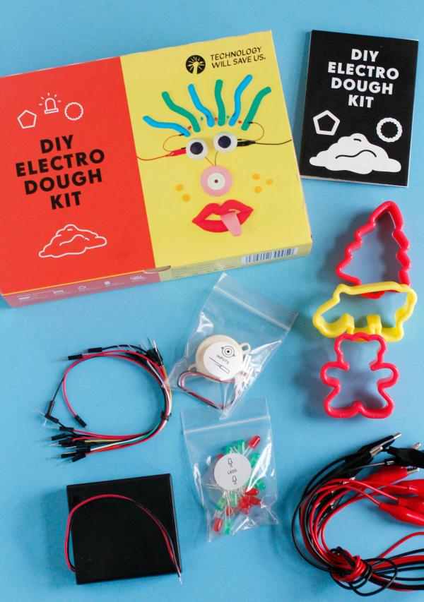 DIY Electro Dough Kit Supplies