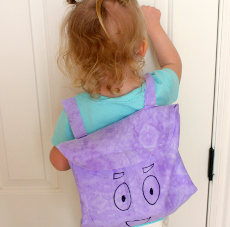 DIY Fabric Dora Backpack