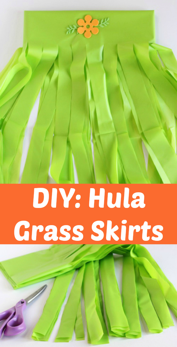 DIY: Hula Grass Skirts for a Party