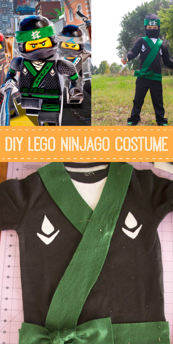 Before you get started on your new costume watch the trailer below to get excited. The LEGO NINJAGO Movie hits theaters on September 22! & DIY LEGO Ninjago Costume | Make and Takes