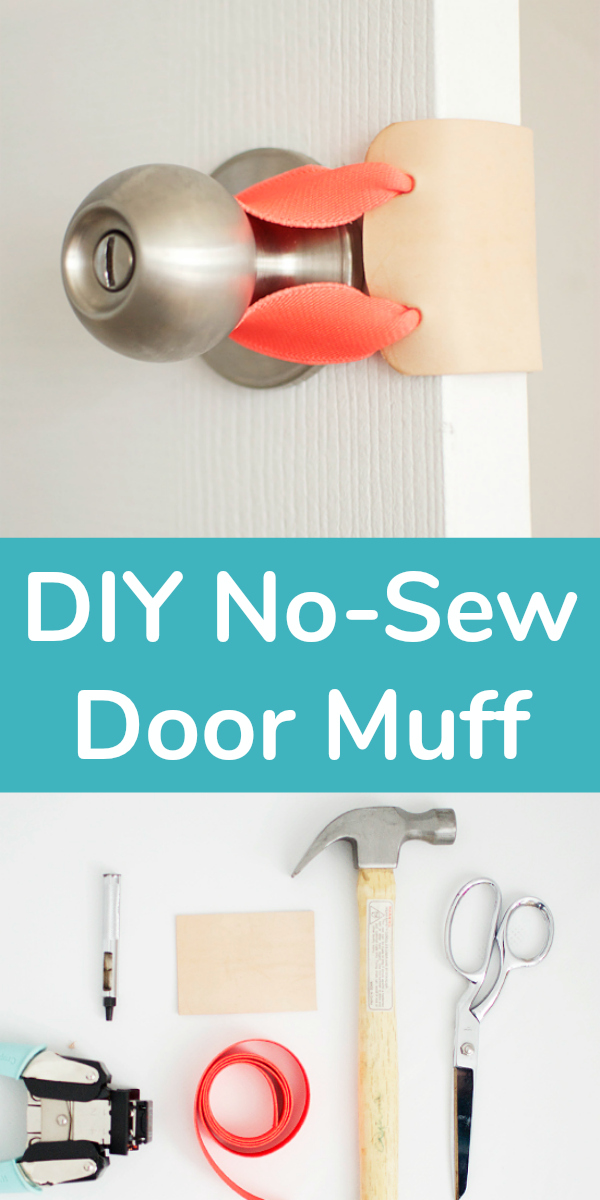 DIY No-Sew Door Muff