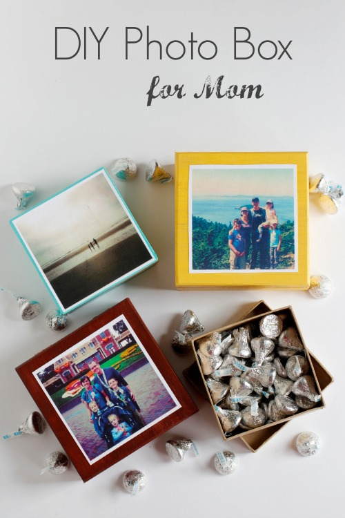 Mother's Day Photo Box