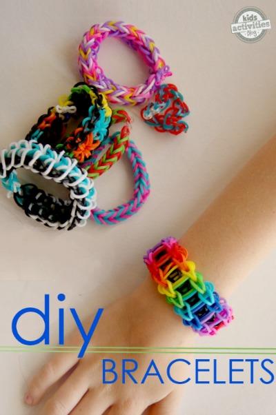 DIY Rainbow Loom Bracelets