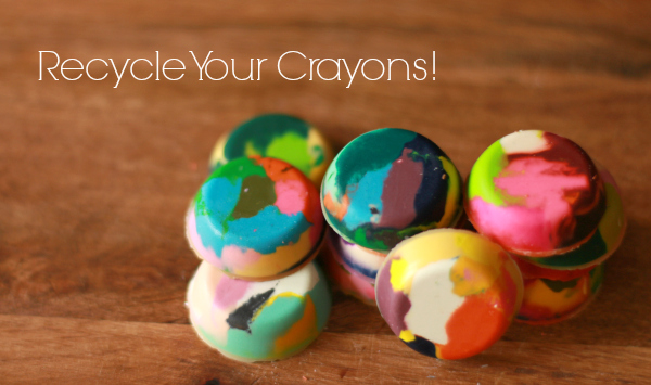 Recycled Chunky Crayons