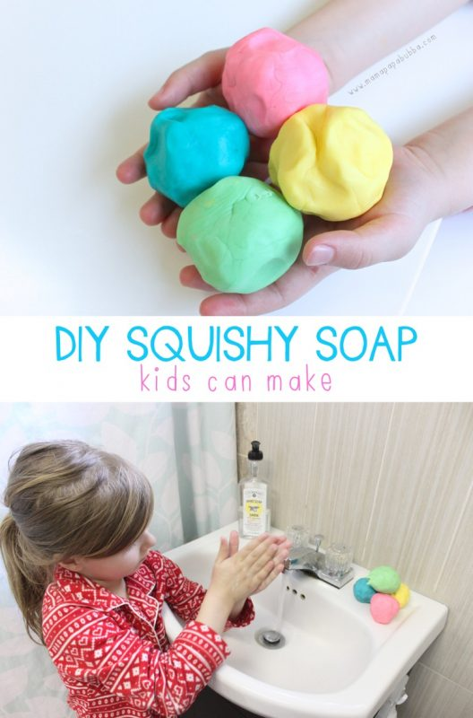 AWESOME DIY Squishy Soap