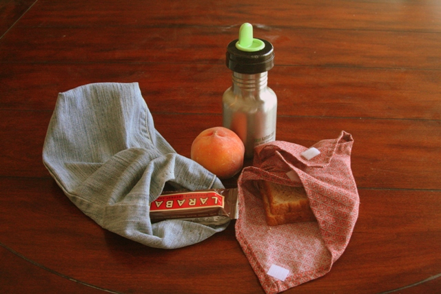 DIY Reusable Lunch Sack Set