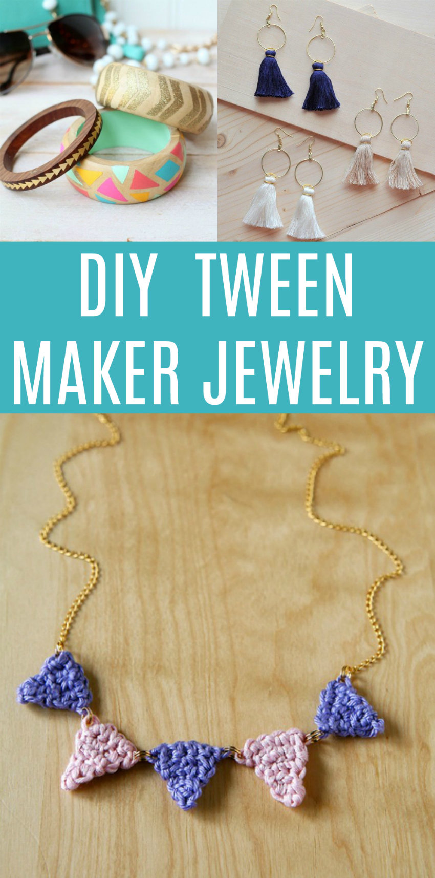 DIY Tween Maker Jewelry Ideas